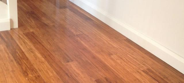 Floating floors: Bamboo