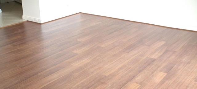Floating Floors: Laminate flooring