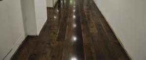 solid timber floor